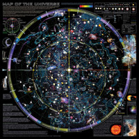 Map of Universe - ©Spaceshots Print at AllPosters.com