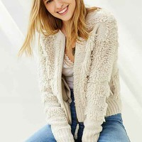 Staring At Stars Loopy-Stitch Bomber Cardigan