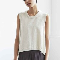 Truly Madly Deeply Asymmetrical Thermal Tank Top