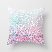 Pastel Winter Throw Pillow by Lisa Argyropoulos   Society6