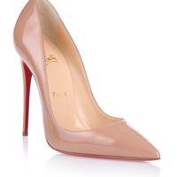 So Kate 120 nude patent pump Christian Louboutin