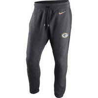 Green Bay Packers Nike Championship Drive Gold Collection Hybrid Fleece Sweatpants - Charcoal