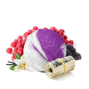 Verry Berry Cash Bath Bomb