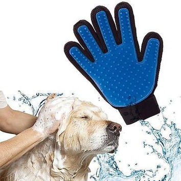 New Silicone De-Shedding Grooming Massage Glove