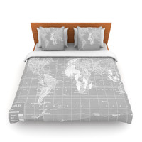 "Catherine Holcombe ""The Olde World"" Fleece Duvet Cover"