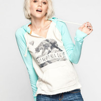 Billabong Days Off Womens Hoodie Mint  In Sizes