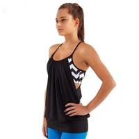 Running Vests Jogging CKAHSBI Hot Sexy Female Loose Sports Shirts Solid Fitness Vest Gym Women Yoga Clothes Running Top Breathable Lady Cycling Vest KO_11_1