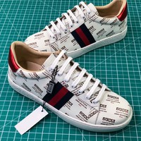 Gucci Ace Embroidered Low-top Sneaker - Best Online Sale