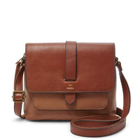 Kinley Small Crossbody in Brown | Fossil