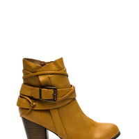 Wrapped And Strapped Chunky Booties