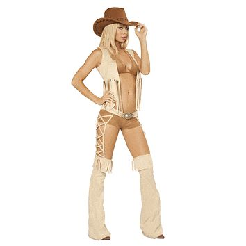 Sexy Jesse Deluxe Cowgirl Halloween Costume