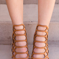 Addie Heels - Tan