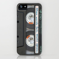 Cassette iPhone - Words iPhone & iPod Case by Maximilian San