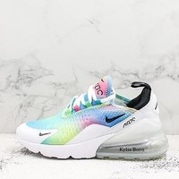 Nike Air Max 270 White Multi Colors