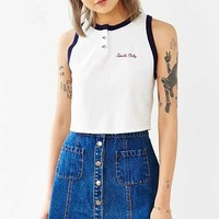 Truly Madly Deeply Locals Cropped Tank Top