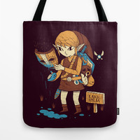 you got the loki mask! Tote Bag by Louis Roskosch