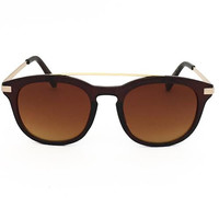 Eye Candy Sunglasses In Brown