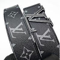 Louis Vuitton LV Fashion Printed Gold And Silver Buckle Belt Hot Seller For Men And Women Casual Belts