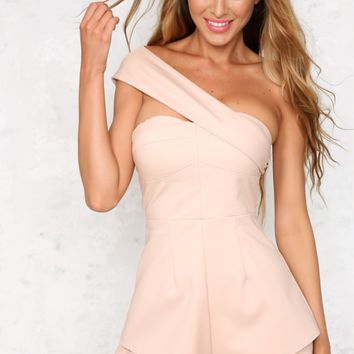 Same Day Playsuit Nude