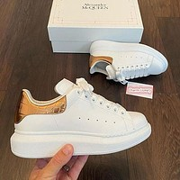 Alexander McQueen Casual Little white shoes 1