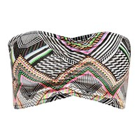 Clara Neon Aztec Ruched Front Bandeau