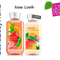 Bath & Body Works Mango Mandarin Body Lotion & Shower Gel Gift Set