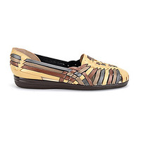 Softspots Trinidad Metallic Colorblocked Huarache Sandals - Metallic/M