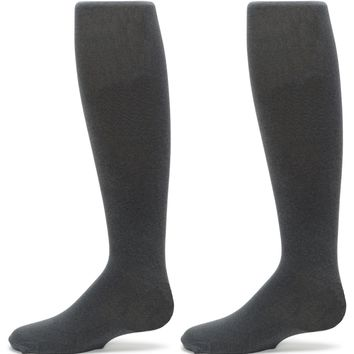 2-Pack Nylon Sueded Microfiber Tights (Oxford Heather)