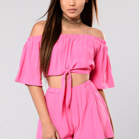 Come Alive Set - Neon Fuchsia