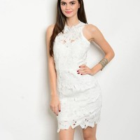 ALL I NEED DRESS IN WHITE