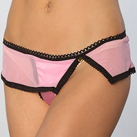 *Intimates Boutique The Satin Charm Thong in Pink : Karmaloop.com - Global Concrete Culture