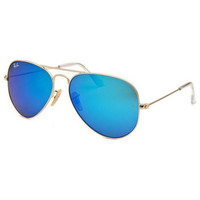 RAY BAN Sunglasses RB 3025 112/17 Matte Gold 55MM