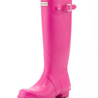 Hunter Boot Original Tall Welly Boot, Lipstick Pink