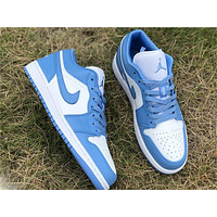 Vip AJ1 Low Top, Campus North Carolina Blue, Number, AO9944 441 Full Code Ships 36--46