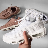 NIKE Air max  Sneakers Running Sports Shoes white  H-CSXY