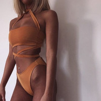 Summer High Quality Comfortable 3-color Sexy Swimwear