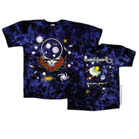Grateful Dead - Space Your Face Tie Dye T Shirt on Sale for $25.95 at HippieShop.com