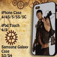 Daryl Dixon Samsung Galaxy S3/ S4 case, iPhone 4/4S / 5/ 5s/ 5c case, iPod Touch 4 / 5 case
