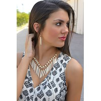 And the Beat Goes On Necklace Set