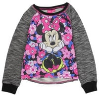 MINNIE MOUSE Girls 4-16 Fashion Top