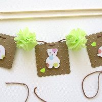 Cake Topper - Banner - Garland - Baby Shower - Birthday