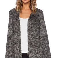 UNIF Mellow Cardigan in Charcoal
