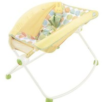 Fisher-Price Newborn Rock 'n Play Sleeper, Yellow (Discontinued by Manufacturer)