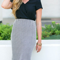 Nothin' But a Houndstooth Dress