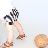 Baby Boys Girls Shorts Children Trousers Trousers Casual Loose Sports Stripes Cotton Shorts Toddlers Summer Night