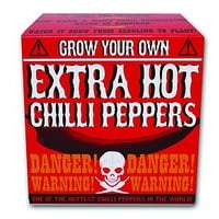 Grow Your Own Extra Hot Chilies Gift Set