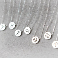 Zodiac Sign Constellation Necklace