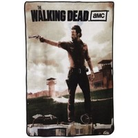 Walking Dead Zombie Undead TV Show Blanket - Rick Grimes Fleece Throw