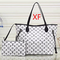 Perfect Louis Vuitton LV  Women Fashion Leather Satchel Shoulder Bag Handbag