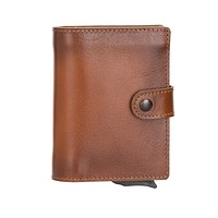 Palermo Smart Handcrafted Wallet & Mechanical Card Holder with RFID